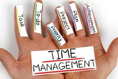 Why time management skills are important in a professional workspace?